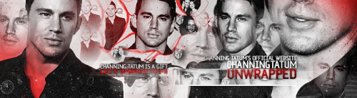 Channing Tatum Unwrapped Header